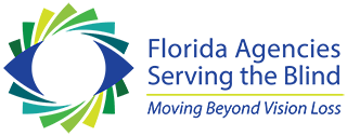 Florida Agencies Serving the Blind regular, full-color logo