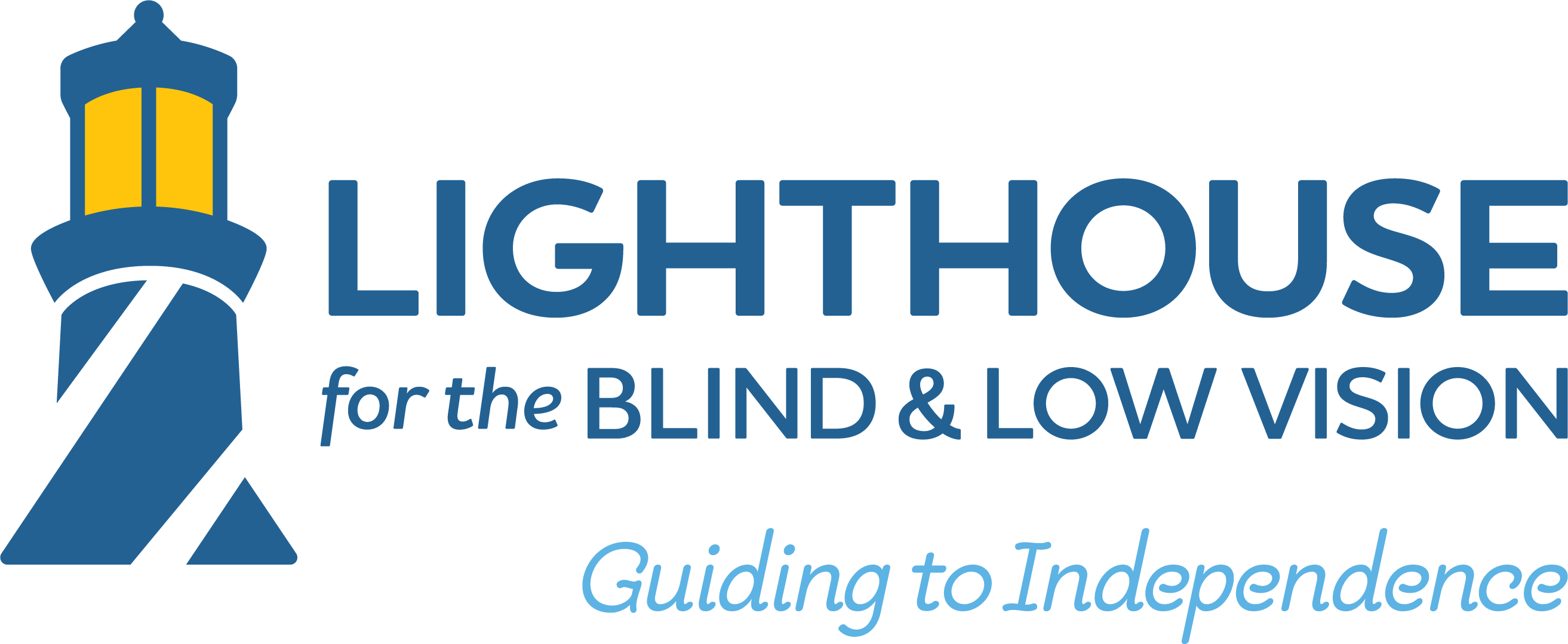 Lighthouse for the Blind and Low Vision logo